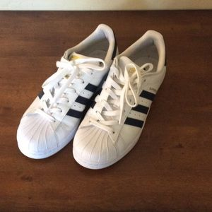 Adidas Superstar, only worn once